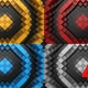 Rhombuses Form A Wave - VideoHive Item for Sale