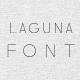Laguna7 Font - GraphicRiver Item for Sale