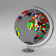 Earth Globe (World Map with Flags) - 3DOcean Item for Sale