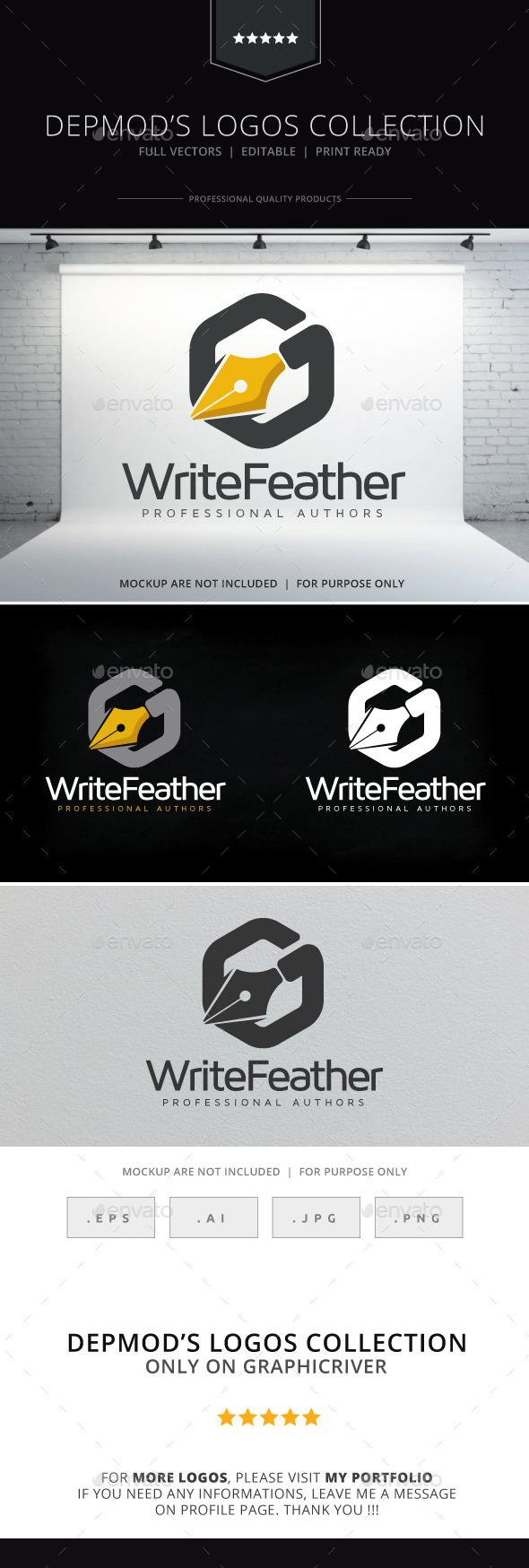Write Feather Logo