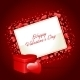 Heart Gift Present Valentine's Day Background - GraphicRiver Item for Sale