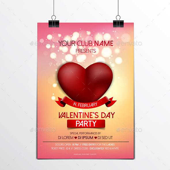 Valentines Day Brochure