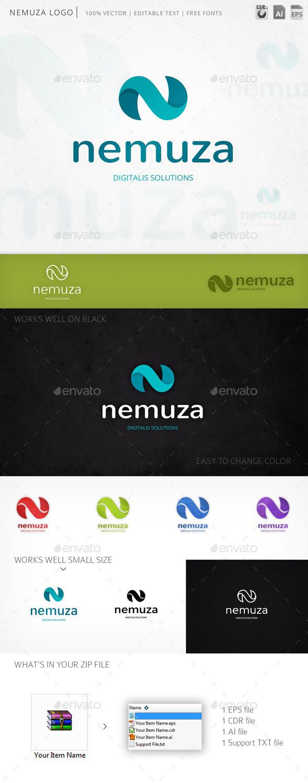 Nemuza Letter N Logo Template