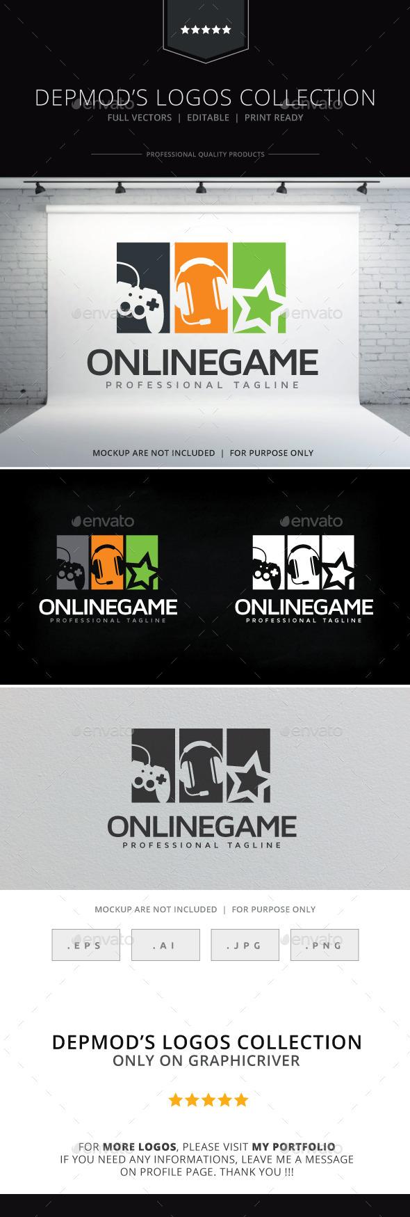 Online Game Logo