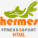 Hermes - Fitness One-page HTML Template - ThemeForest Item for Sale