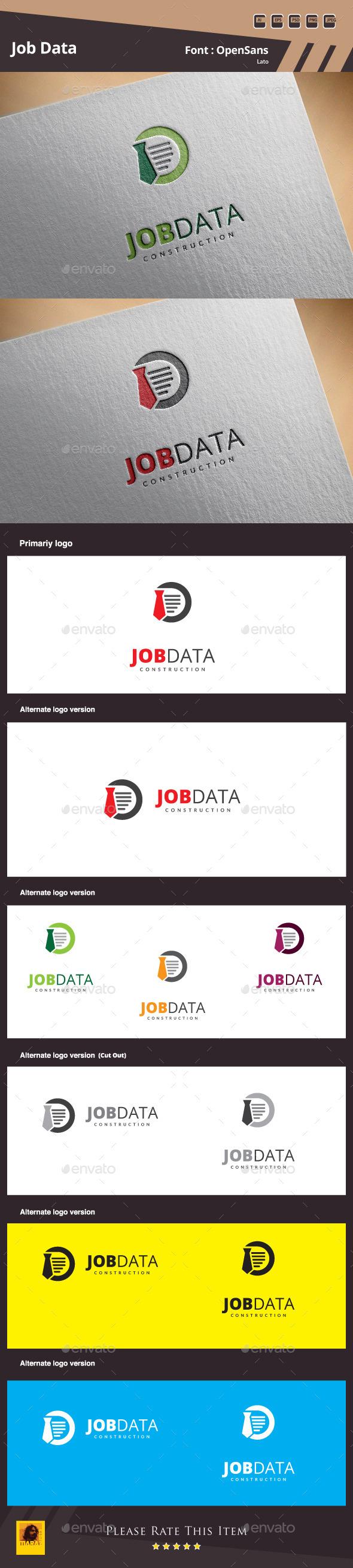 Job Data Logo Template