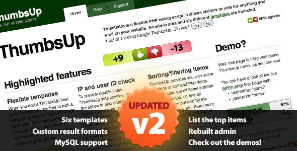 ThumbsUp, ThumbsUp plugin, ThumbsUp plugin nulled, ThumbsUp pro plugin free download, ThumbsUp plugin demo