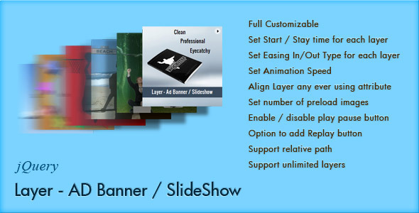 Layer - jQuery Ad Banner / Slideshow