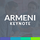 Armeni Keynote Template - GraphicRiver Item for Sale