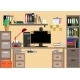 Business Workplace with Office Things  - GraphicRiver Item for Sale