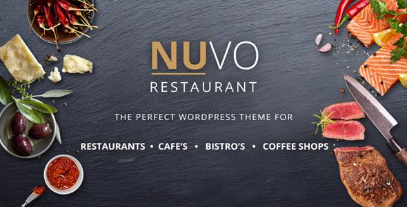 NUVO - Restaurant, Cafe & Bistro Drupal Theme