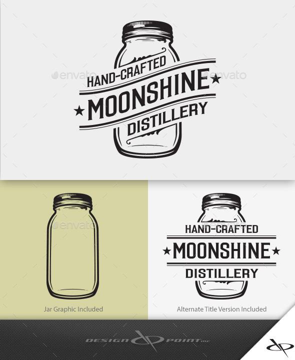 Moonshine Distillery Logo