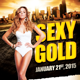 Sexy Gold Flyer Template - GraphicRiver Item for Sale