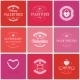Happy Valentine's Day Greetings Cards - GraphicRiver Item for Sale