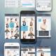 Slade Clean & Minimal  Mobile UI pack - GraphicRiver Item for Sale