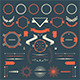 Retro Design Elements Collection - GraphicRiver Item for Sale