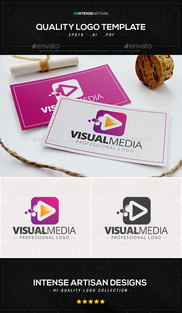 Visual Media V.3 Logo Template