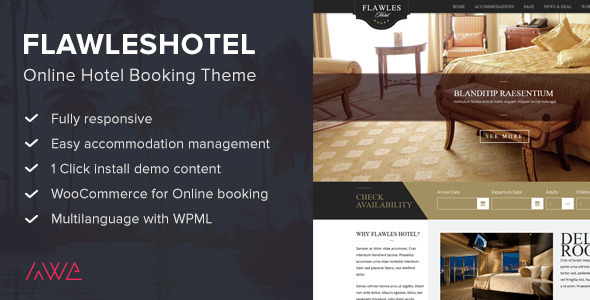 Review: Flawleshotel - Online Hotel Booking Theme free download Review: Flawleshotel - Online Hotel Booking Theme nulled Review: Flawleshotel - Online Hotel Booking Theme