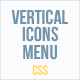 Vertical Icons Menu - CodeCanyon Item for Sale