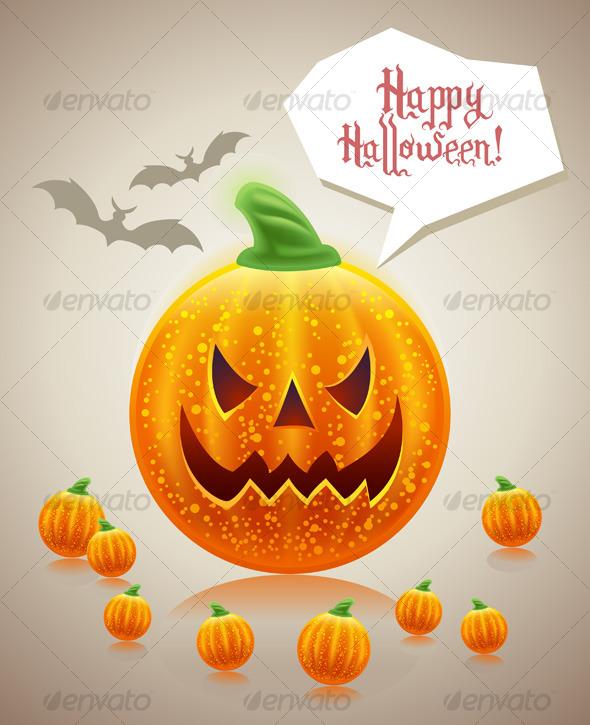 Halloween funny holiday card