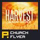 Harvest Sunday Service Flyer Template - GraphicRiver Item for Sale