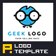Geek Logo Template - GraphicRiver Item for Sale