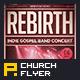 Indie Gospel Band Concert Flyer - GraphicRiver Item for Sale