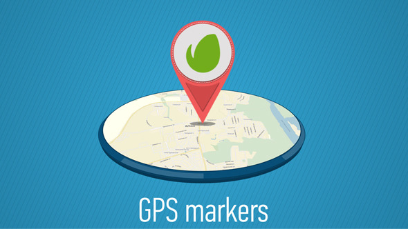 GPS Markers Map