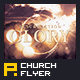 Resurrection Glory Flyer/Poster Template - GraphicRiver Item for Sale