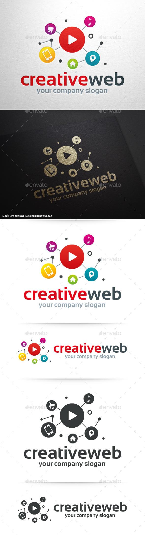 Creative Web Logo Template