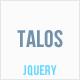 Talos - Animated Horizontal Submenu jQuery Plugin - CodeCanyon Item for Sale
