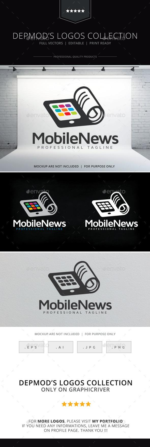 Mobile News Logo