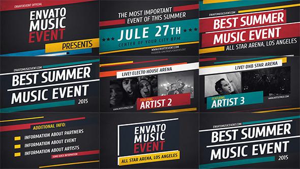 Music Event 2 // Promo