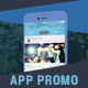 Parallax Mobile App Promo - VideoHive Item for Sale