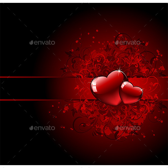 Valentines Day Grunge Heart