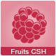 56 Fruits and Vegetables Custom Shape Icons - GraphicRiver Item for Sale