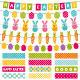 Easter Design Elements Set - GraphicRiver Item for Sale