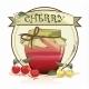 Sweet Cherry Jam Jar - GraphicRiver Item for Sale