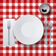 Vector Picnic Casual Dining Placesetting - GraphicRiver Item for Sale