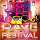 Rave Festival Flyer - GraphicRiver Item for Sale