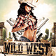Wild West Party Flyer - GraphicRiver Item for Sale