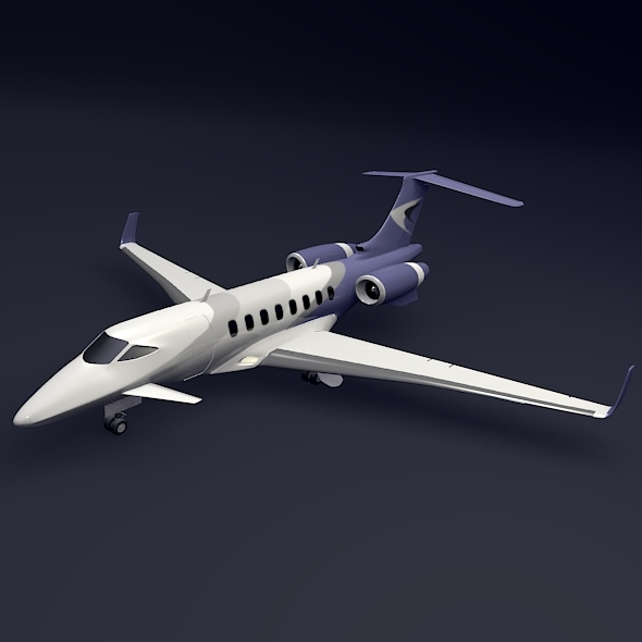 3D Private Plane & Helicopter Models from 3DOcean
