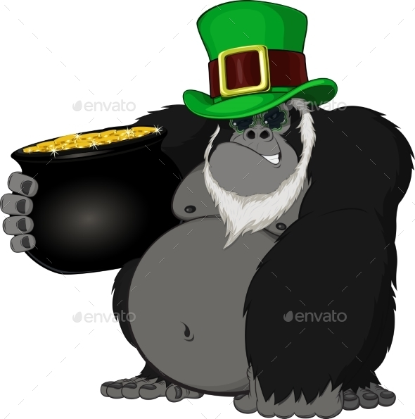 Monkey with a Pot of Gold