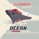 Ocean Freight Shipping - GraphicRiver Item for Sale