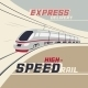 High-Speed Rail - GraphicRiver Item for Sale