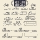 Wheeled Vehicle Icons - GraphicRiver Item for Sale