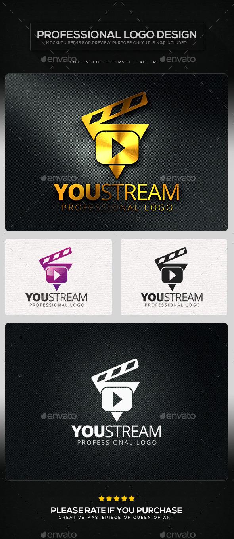 You Stream V.2 Logo Template