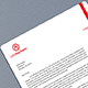 Simple Letterhead Design - GraphicRiver Item for Sale
