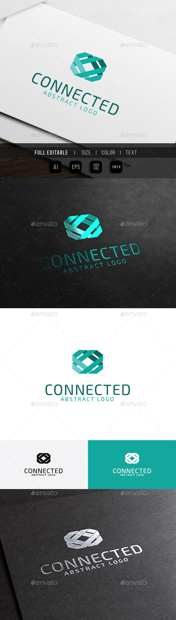 Abstract Connect - Link Technology