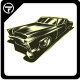 Classic Car Vector - GraphicRiver Item for Sale